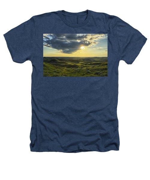 The Sun Shines Through A Cloud Heathers T-Shirt by Robert Postma