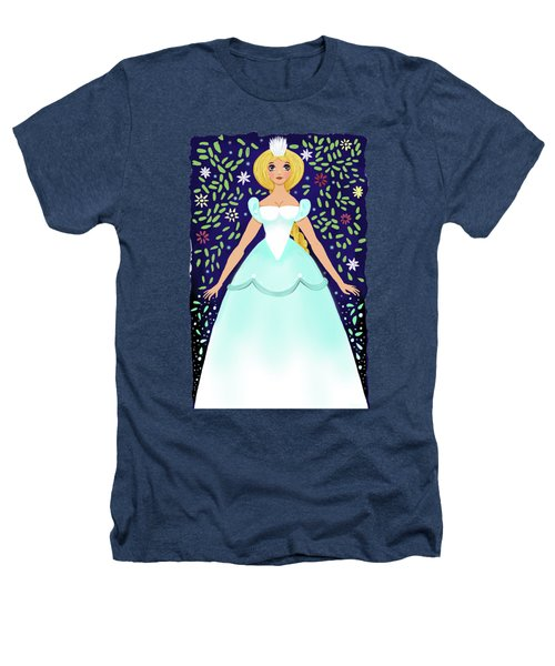 The Winter Fairy Brings The First Frost  Heathers T-Shirt by Little Bunny Sunshine