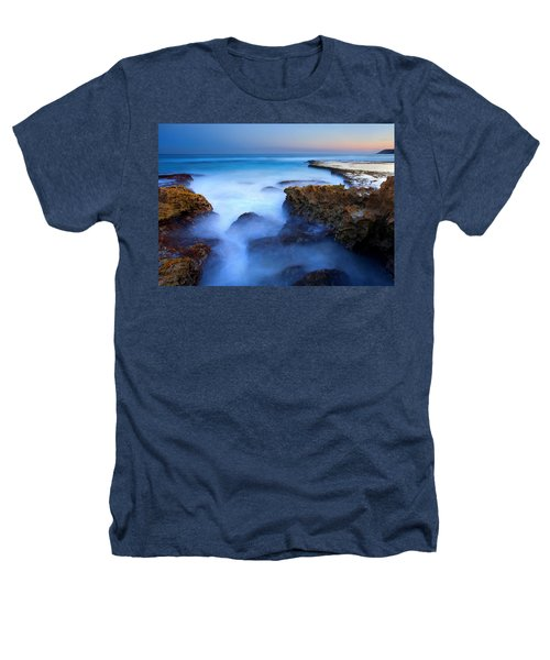 Tidal Bowl Boil Heathers T-Shirt by Mike  Dawson