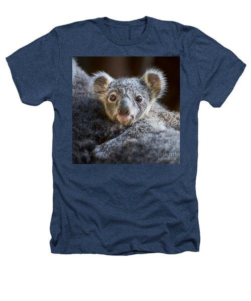 Up Close Koala Joey Heathers T-Shirt by Jamie Pham