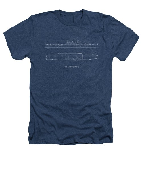 Uss Lexington Heathers T-Shirt by DB Artist
