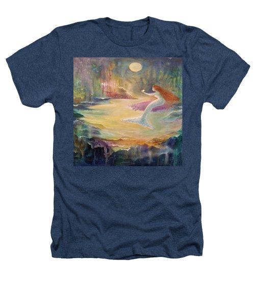 Vintage Mermaid Heathers T-Shirt by Lily Nava