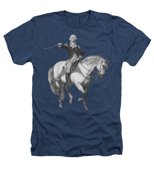 Washington Receiving A Salute At Trenton Heathers T-Shirt by War Is Hell Store