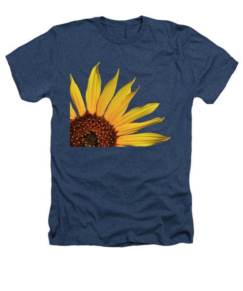 Wild Sunflower Heathers T-Shirt by Shane Bechler
