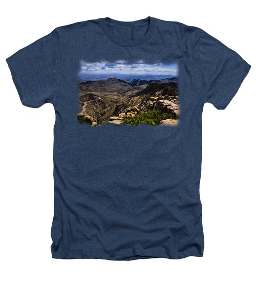 Windy Point No.11 Heathers T-Shirt by Mark Myhaver