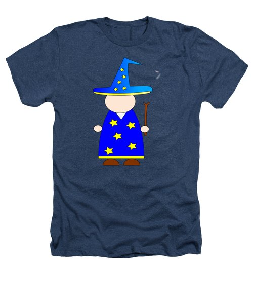 Wizard #2 Heathers T-Shirt by Frederick Holiday