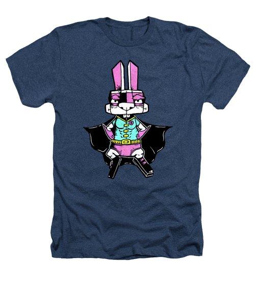 Wonder Bunny Heathers T-Shirt by Bizarre Bunny