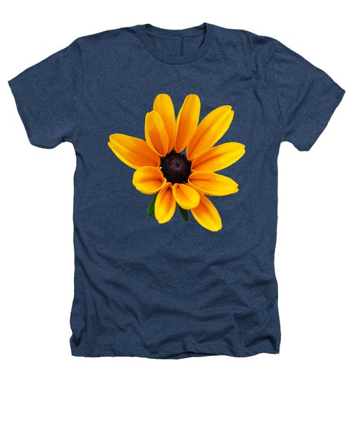 Yellow Flower Black-eyed Susan Heathers T-Shirt by Christina Rollo