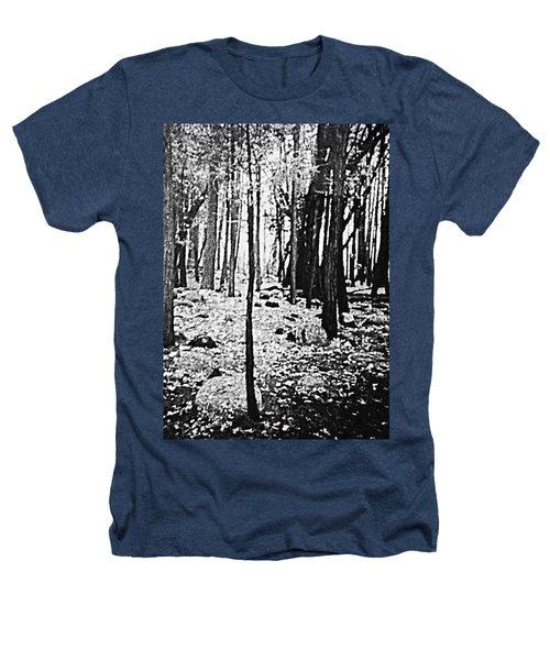 Yosemite National Park Heathers T-Shirt by Debra Lynch