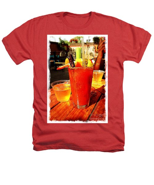 Morning Bloody Heathers T-Shirt by Perry Webster