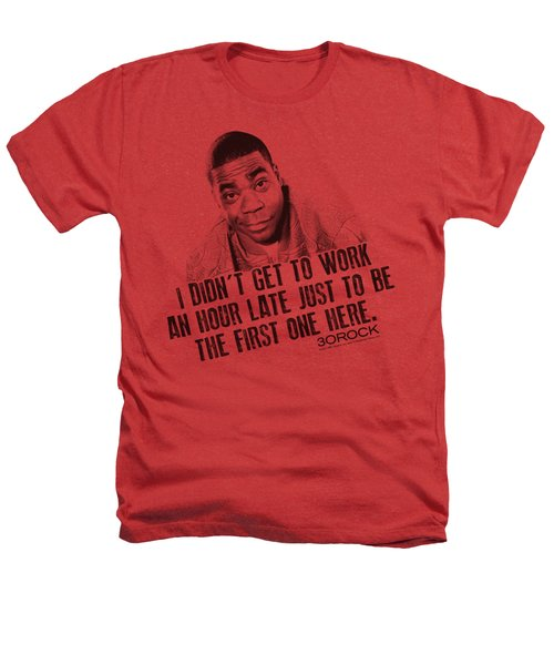 30 Rock - Get To Work Heathers T-Shirt by Brand A