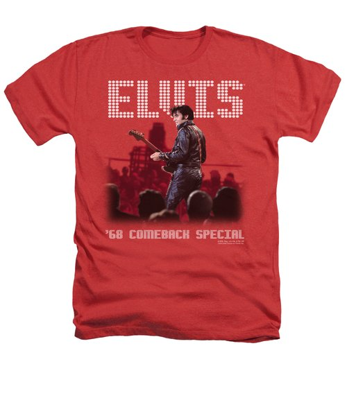 Elvis - Return Of The King Heathers T-Shirt by Brand A