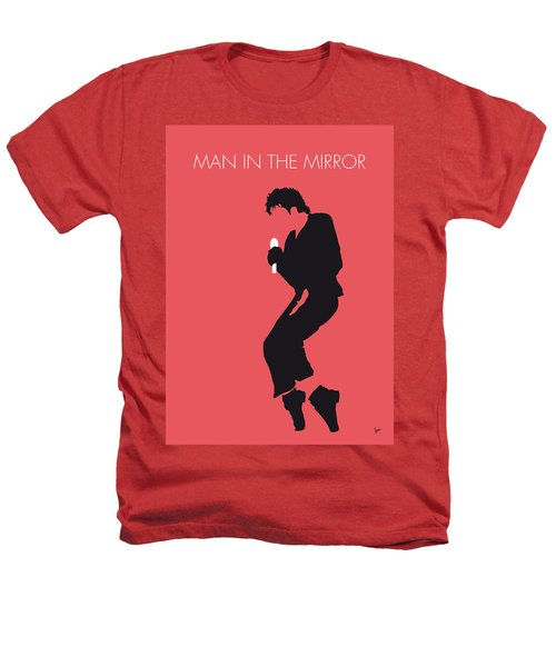 No032 My Michael Jackson Minimal Music Poster Heathers T-Shirt by Chungkong Art