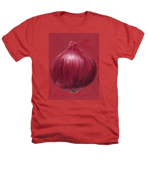 Red Onion Heathers T-Shirt by Brian James