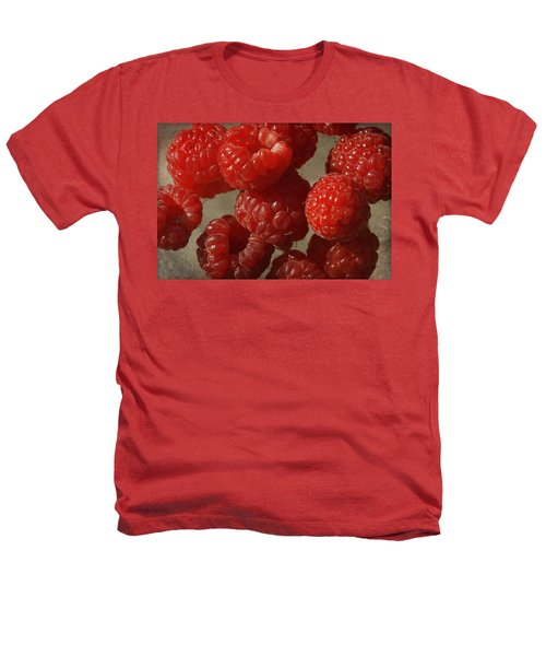 Red Raspberries Heathers T-Shirt by Cindi Ressler