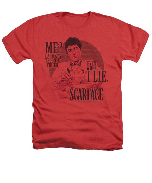 Scarface - Truth Heathers T-Shirt by Brand A
