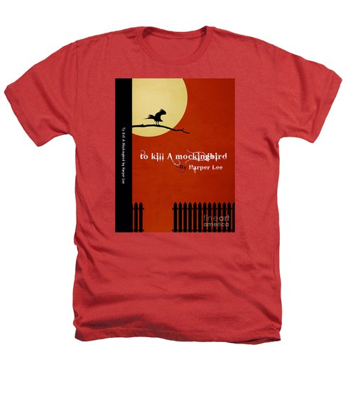 To Kill A Mockingbird Book Cover Movie Poster Art 1 Heathers T-Shirt by Nishanth Gopinathan
