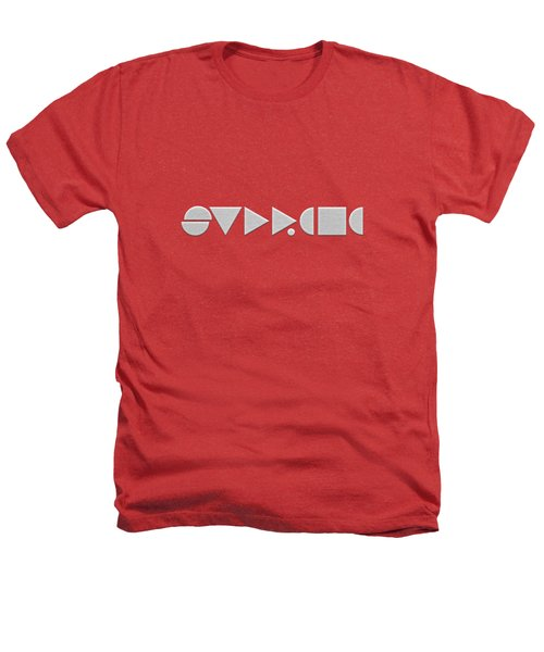 Supreme Being Embroidered Abstract - 2 Of 5 Heathers T-Shirt by Serge Averbukh