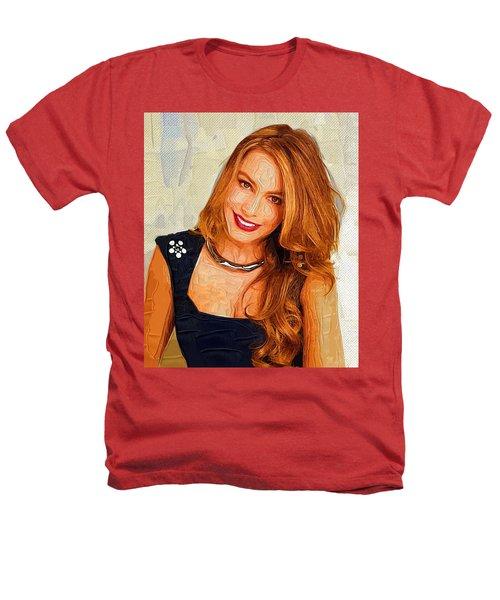 Actress Sofia Vergara  Heathers T-Shirt by Best Actors