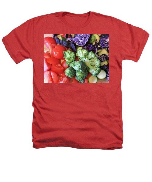 Raw Ingredients Heathers T-Shirt by Tom Gowanlock
