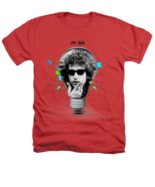 Bob Dylan Collection Heathers T-Shirt by Marvin Blaine