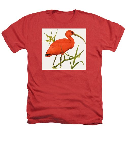 A Scarlet Ibis From South America Heathers T-Shirt by Kenneth Lilly