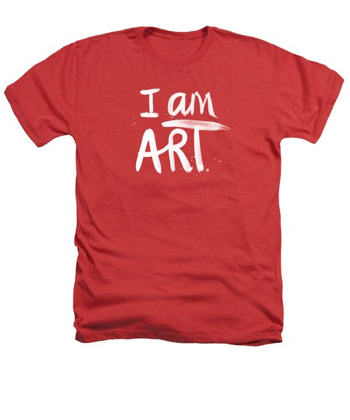 I Am Art- Painted Heathers T-Shirt by Linda Woods