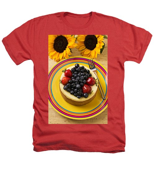Cheesecake With Fruit Heathers T-Shirt by Garry Gay