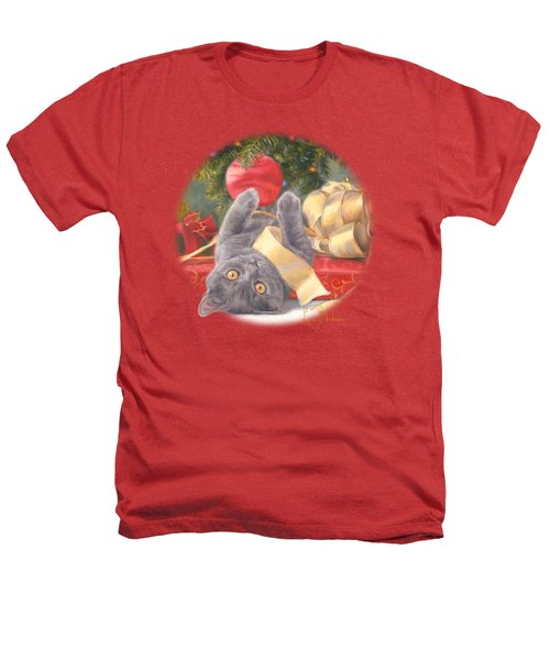 Christmas Surprise Heathers T-Shirt by Lucie Bilodeau