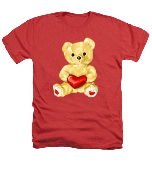 Cute Teddy Bear Hypnotist Heathers T-Shirt by Boriana Giormova