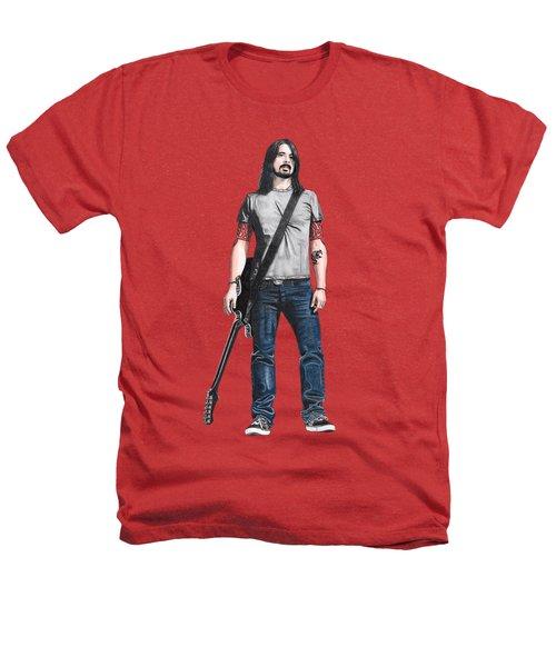 Extraordinary Hero Cutout Heathers T-Shirt by Steven Hart