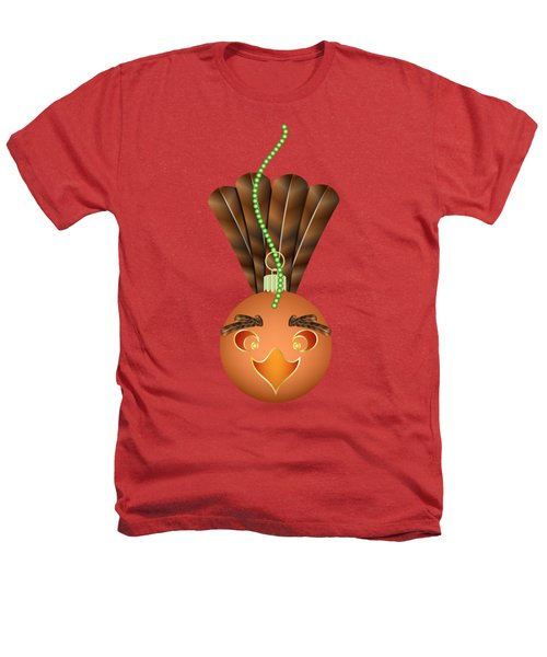 Hallowgivingmas Turkey Ornament Holiday Humor Heathers T-Shirt by MM Anderson