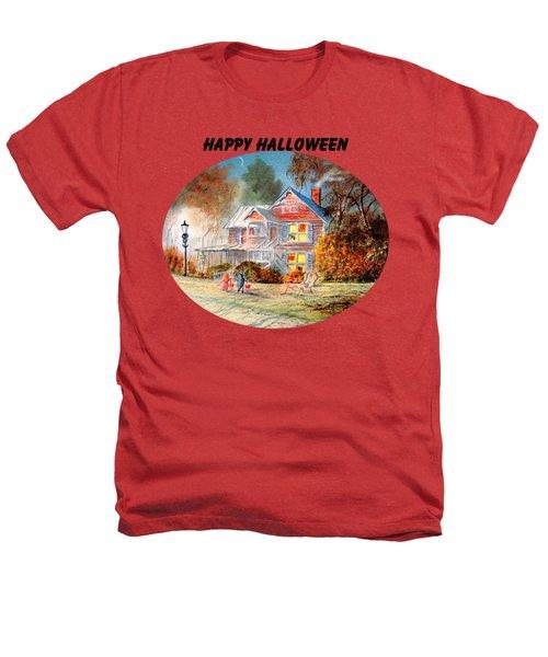 Happy Halloween Heathers T-Shirt by Bill Holkham