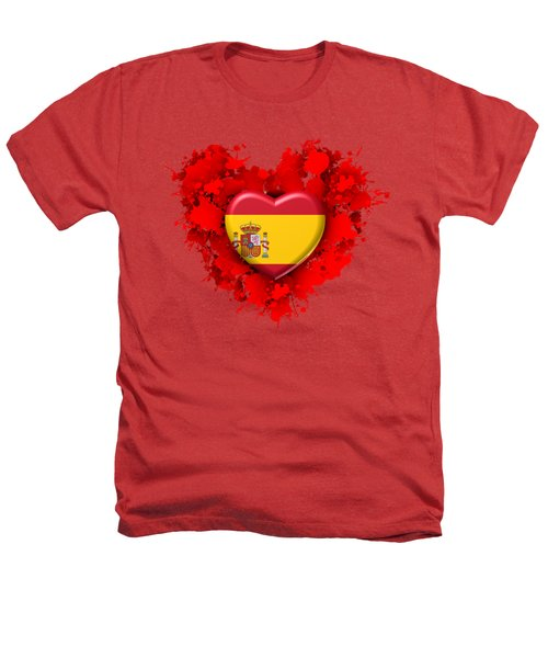 Love Spain Heathers T-Shirt by Alberto RuiZ