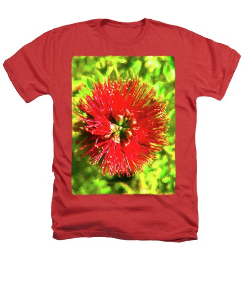 My Surreal Christmas Flower Heathers T-Shirt by Jackie VanO