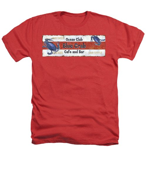 Ocean Club Cafe Heathers T-Shirt by Debbie DeWitt