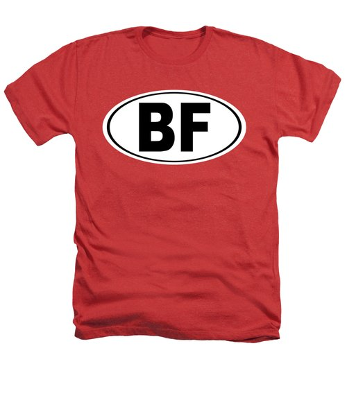 Oval Bf Beaver Falls Pennsylvania Home Pride Heathers T-Shirt by Keith Webber Jr