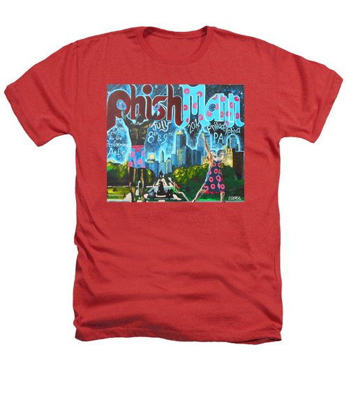 Phishmann Heathers T-Shirt by Kevin J Cooper Artwork
