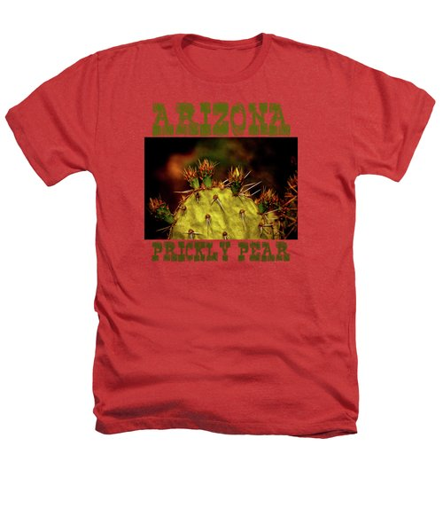 Prickly Pear Spring Heathers T-Shirt by Roger Passman