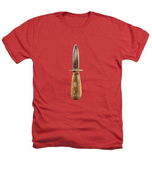 Shorty Knife Heathers T-Shirt by YoPedro