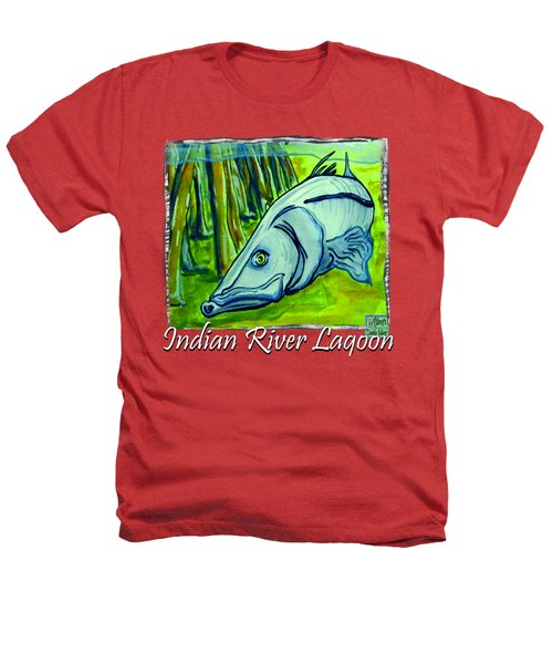 Snook Fish Heathers T-Shirt by W Gilroy