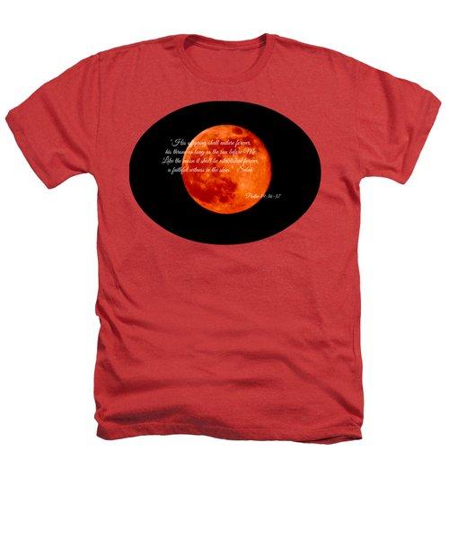 Strawberry Moon Heathers T-Shirt by Anita Faye