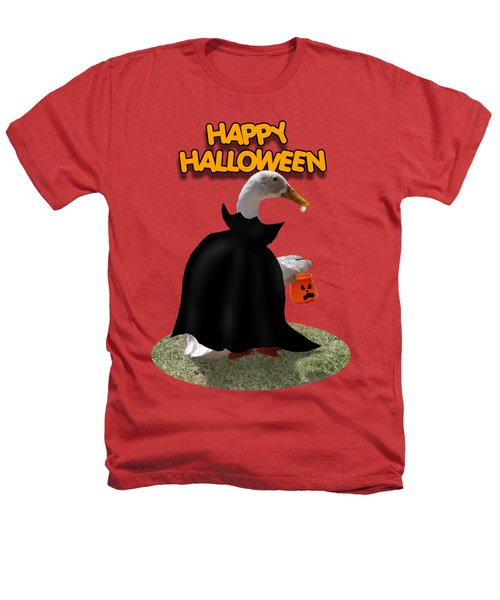 Trick Or Treat For Count Duckula Heathers T-Shirt by Gravityx9  Designs