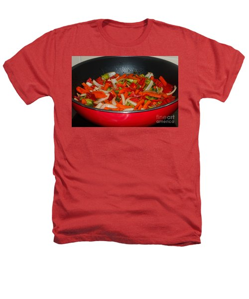 Vegetable Stir Fry By Kaye Menner Heathers T-Shirt by Kaye Menner