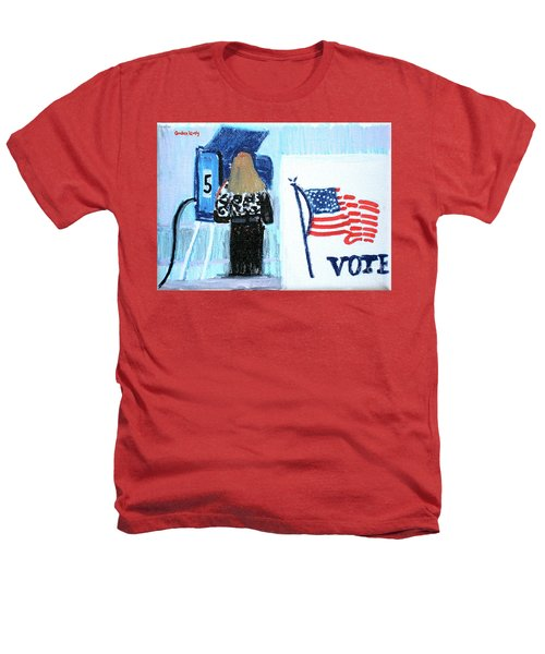 Voting Booth 2008 Heathers T-Shirt by Candace Lovely