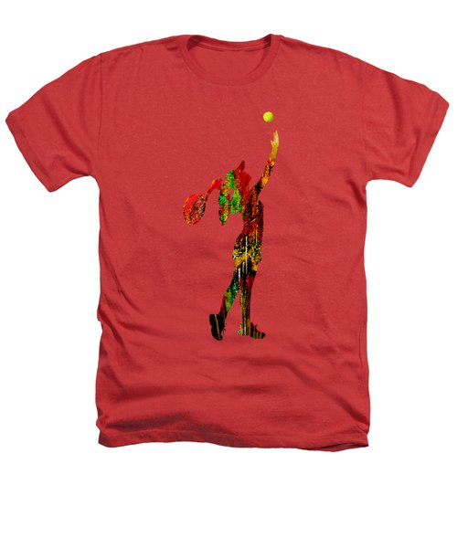 Womens Tennis Collection Heathers T-Shirt by Marvin Blaine