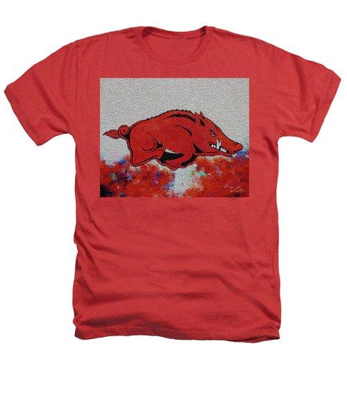Woo Pig Sooie 2 Heathers T-Shirt by Belinda Nagy