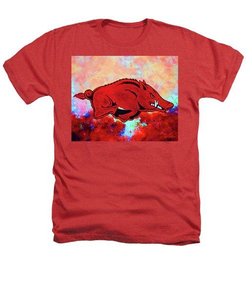 Woo Pig Sooie 3 Heathers T-Shirt by Belinda Nagy