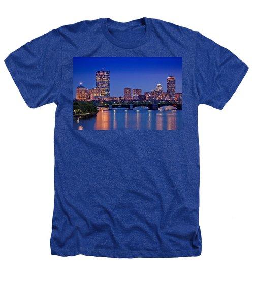 Boston Nights 2 Heathers T-Shirt by Joann Vitali