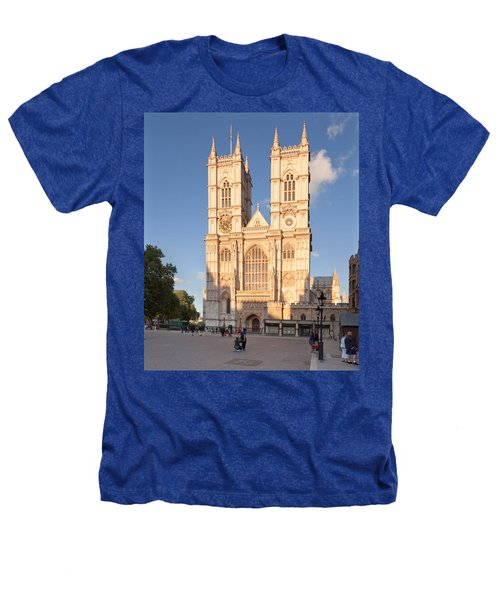 Facade Of A Cathedral, Westminster Heathers T-Shirt by Panoramic Images